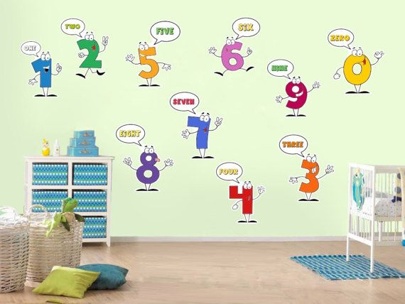 Ins Europe Home Decoration Cartoon Animal Cute Fox Wall Stickers For Kids Room Wooden Bedroom Wardrobe Wall Decoration Drop Ship Wall Stickers