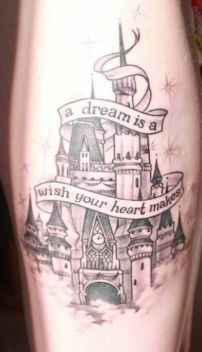 Fairytale Tattoo Without The Scroll Tattoo Ideas