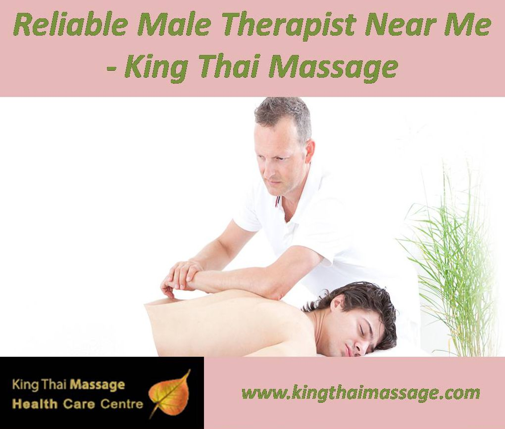 Registered Massage Male Therapist for Thai Massage & Hot