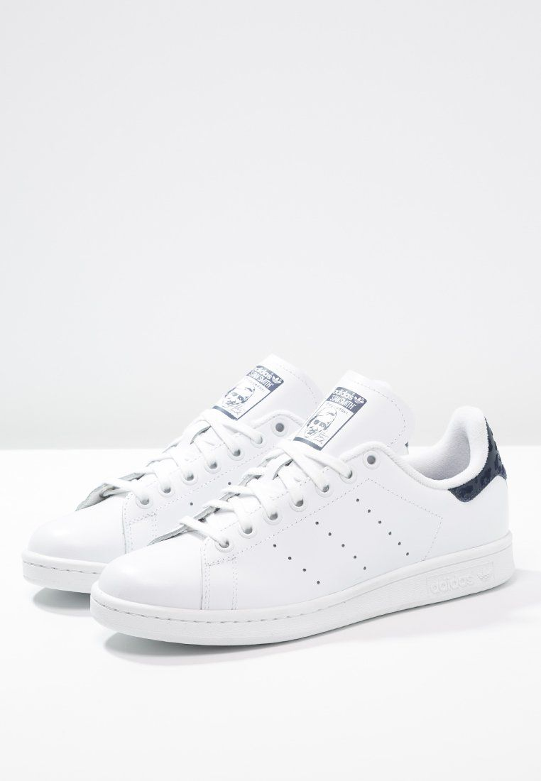 adidas Originals STAN SMITH - Joggesko - white/night indigo ...