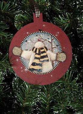 Round Ornament Lynne Andrews Book And Surface Now Available Artistsclub Christmas