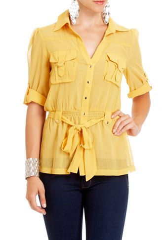 2b   Lola Cargo Pocket Top - View All