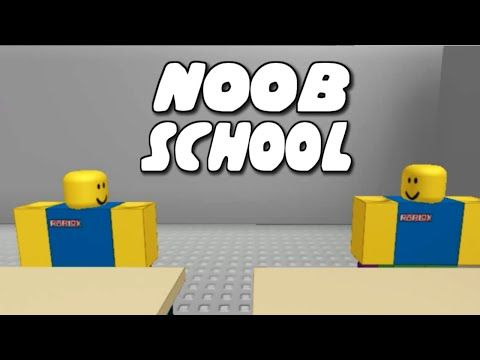 Noob School Reuploaded A Roblox Machinima By Oblivioushd Youtube