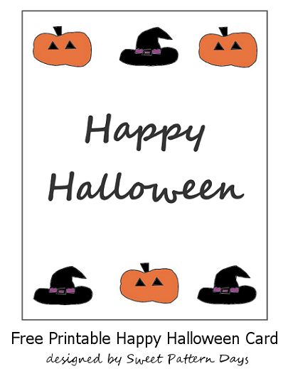 photograph about Happy Halloween Cards Printable named Satisfied Halloween Printable Card Halloween Playing cards Halloween