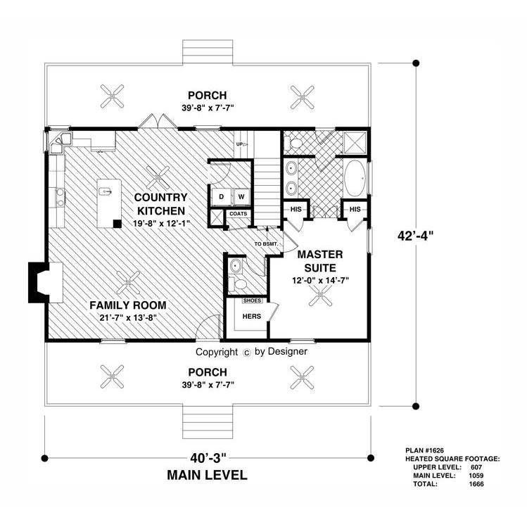 The House Designers Thd 3061 Builder Ready Blueprints To Build A Craftsman Bungalow House Plan With Basement Foundation 5 Printed Sets Walmart Com Cottage Floor Plans Basement House Plans Craftsman Bungalow House Plans