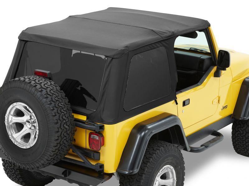 Bestop 56820 35 Trektop Nx Soft Top For 97 06 Jeep Wrangler Tj Jeep Wrangler Tj Soft Tops Jeep Wrangler