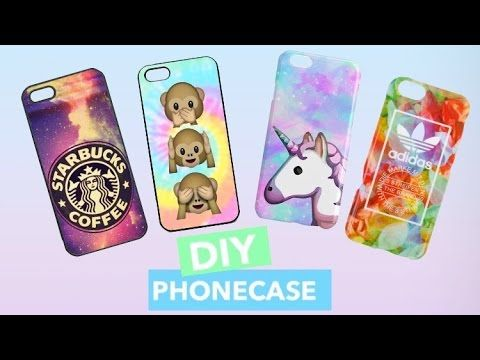diy handyh llen phone case designs selber machen tumblr starbucks emoji more youtube. Black Bedroom Furniture Sets. Home Design Ideas