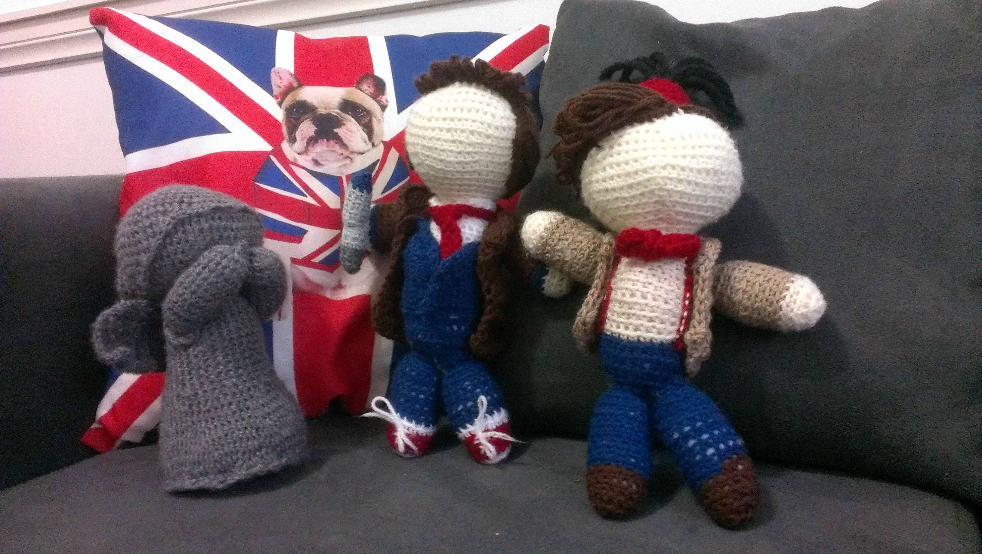 Cute Doctor Who Dolls [not sure if purchasable]