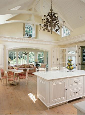 Best Light And Bright Kitchen Beautiful Vaulted Ceilings With 640 x 480