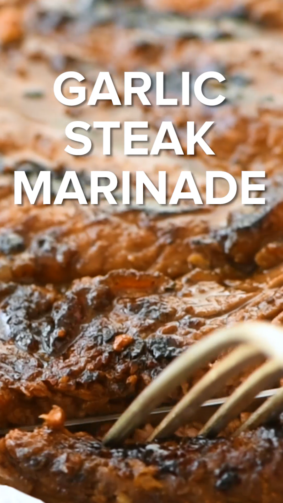 Garlic Steak Marinade Recipe