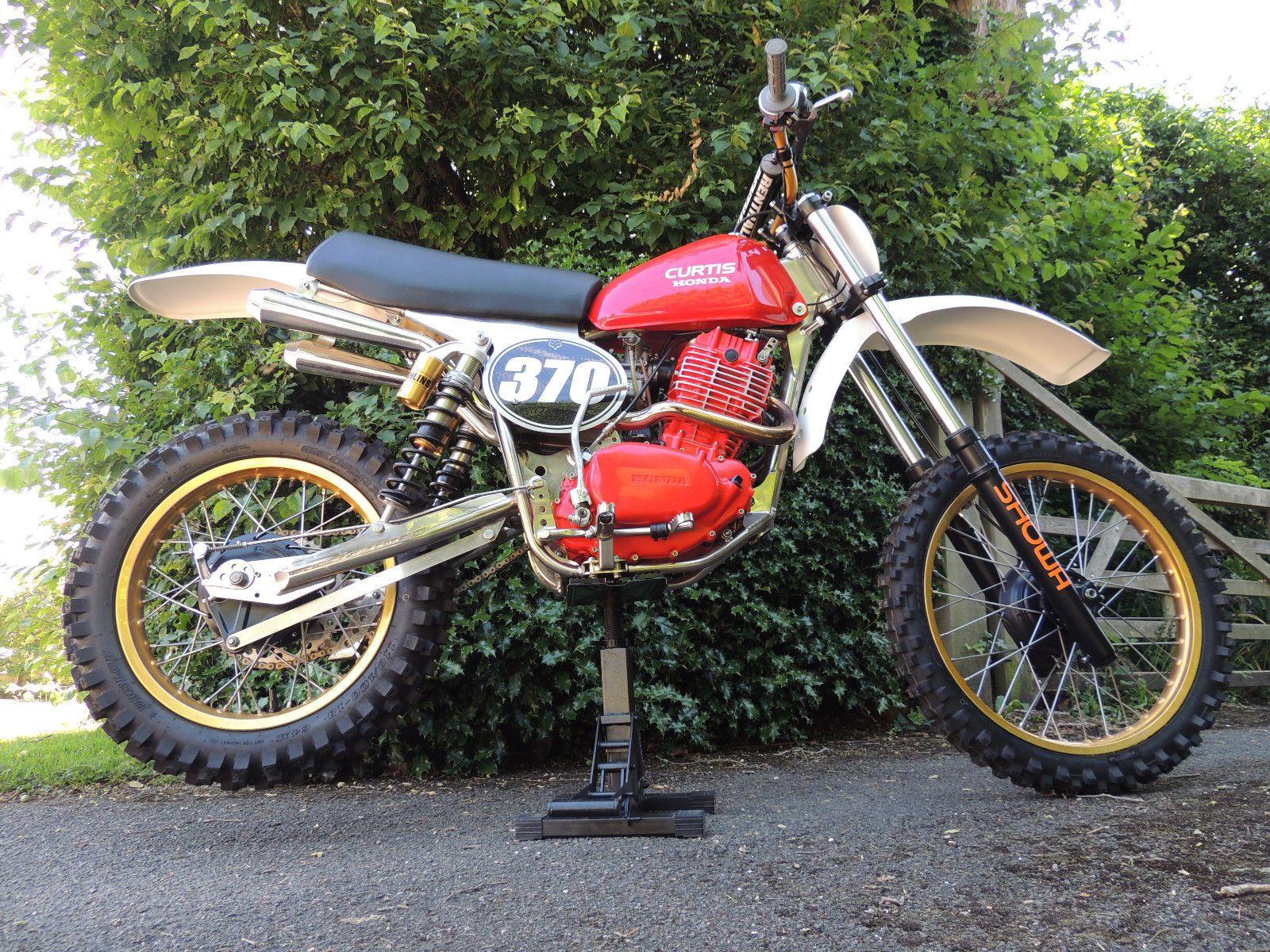 Ebay Curtis Honda 540 Twinshock Motocross Classic Vintage Evo Motorcycles Biker Vintage Motocross Motocross Honda