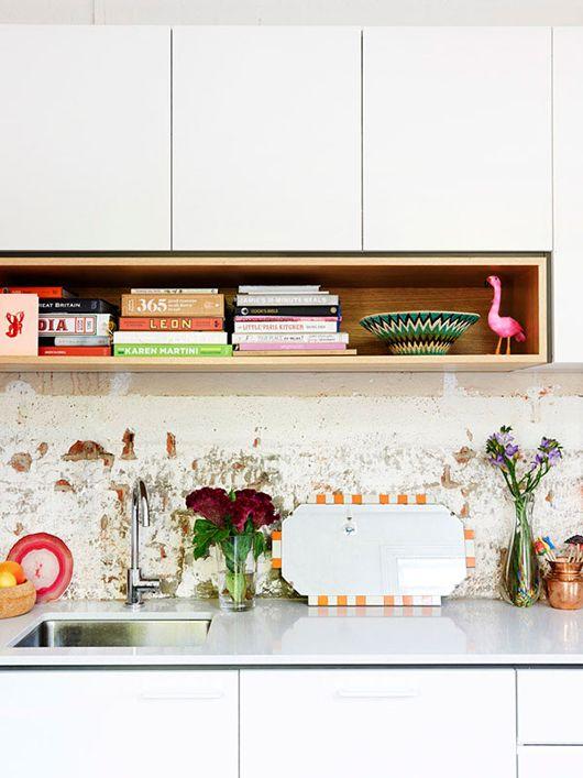 12 Kitchen Shelving Ideas The Decorating Dozen The Design Files Regal Kuche Und Unterschrank Kuche