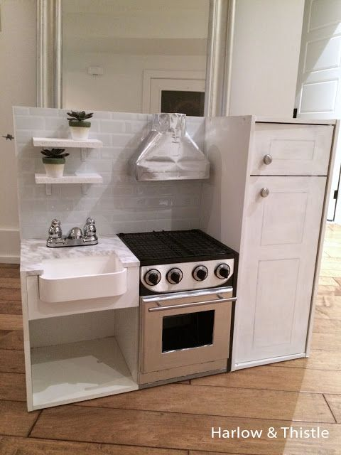 DIY Play Kitchen | Harlow & Thistle - Home Design - Lifestyle ...
