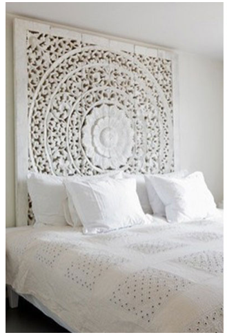 Moroccan Screen Headboard