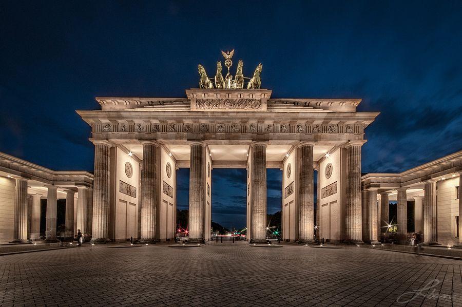 Berlin Gate Brandenburg Gate Berlin City Berlin Germany