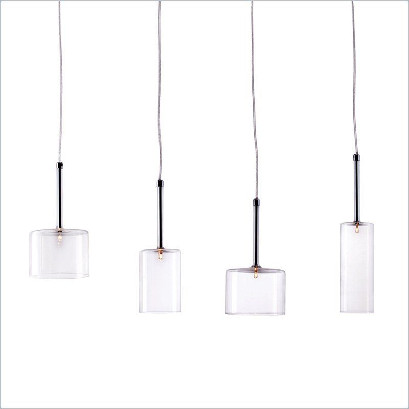Zuo Rain Ceiling Lamp In Clear 50139 Lowest Price Online On All