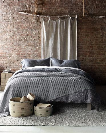 From rugs, to bedding and storage, create the ultimate bedroom with our Eileen Fisher Home collection.