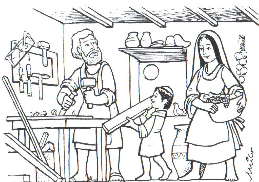 Blog Educativo Jr Giraldo La Familia De Jesús De Nazaret