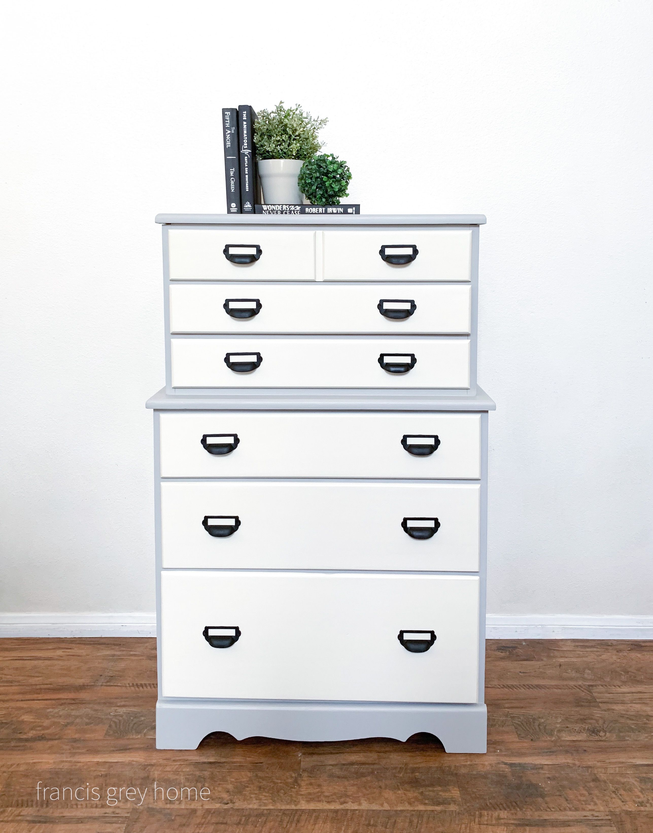 Grey And White Dresser White Dresser Grey And White Home Decor [ 3283 x 2574 Pixel ]