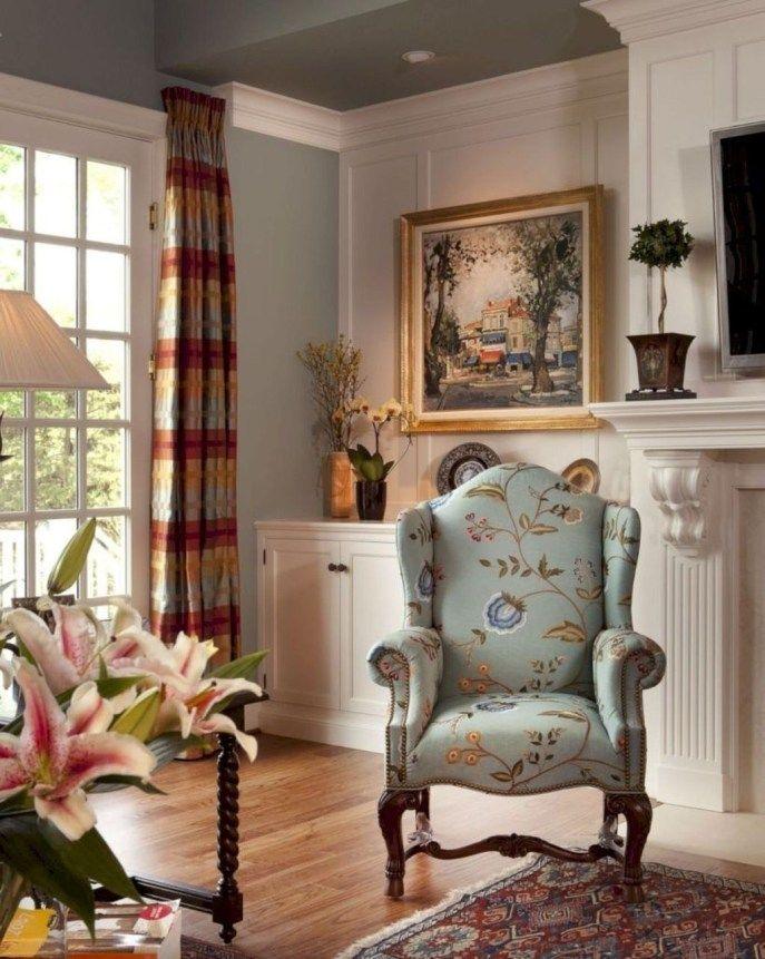 29 Living Room Interior Design: Comfy French Country Living Room Decor Ideas 29