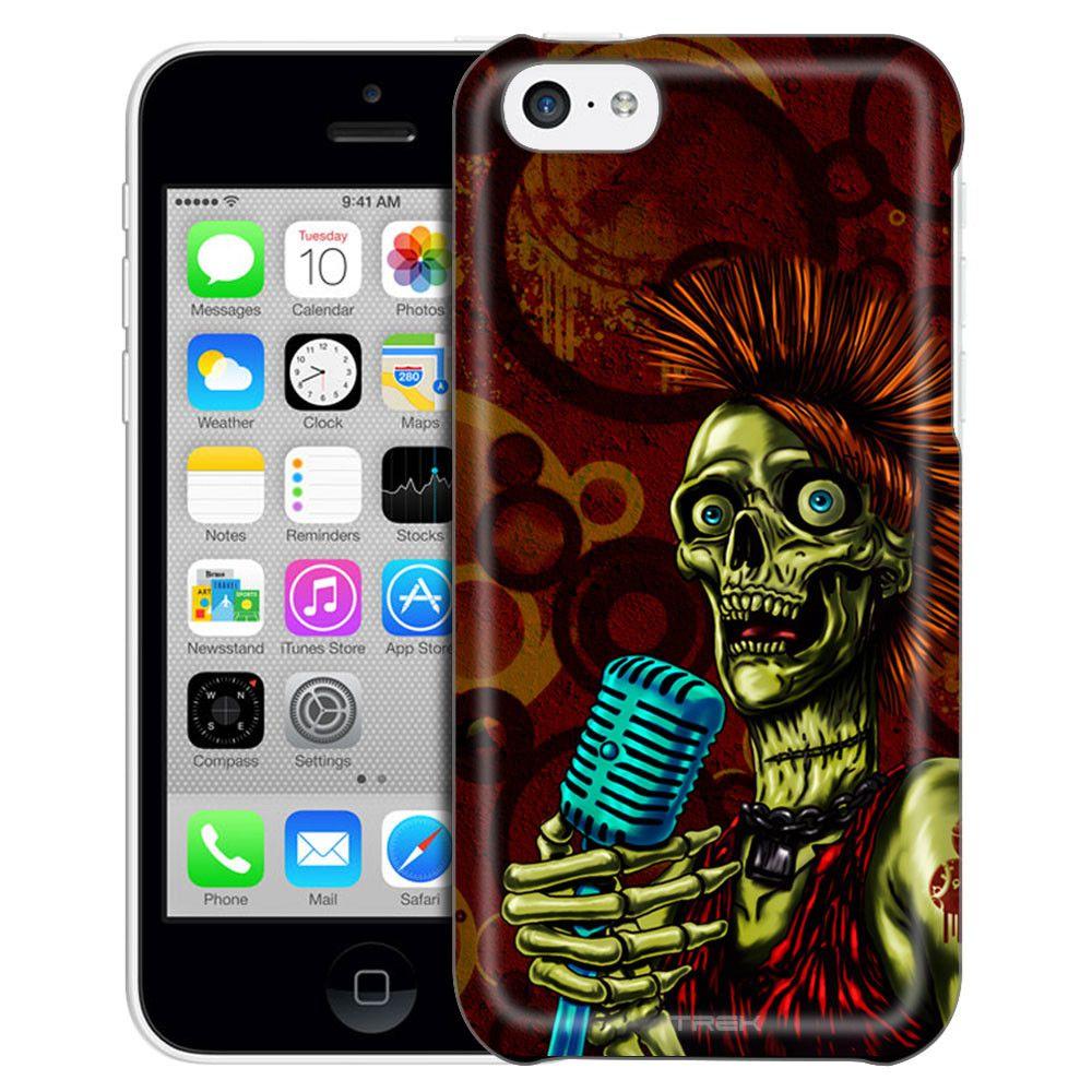 Apple iPhone 5C Growl Skull Case