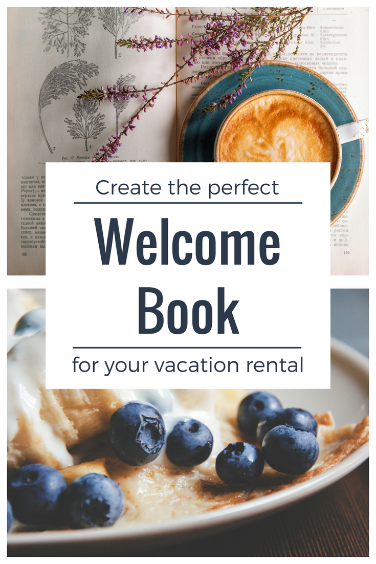 vacation rental welcome book template instant digital download word files vacation renting. Black Bedroom Furniture Sets. Home Design Ideas