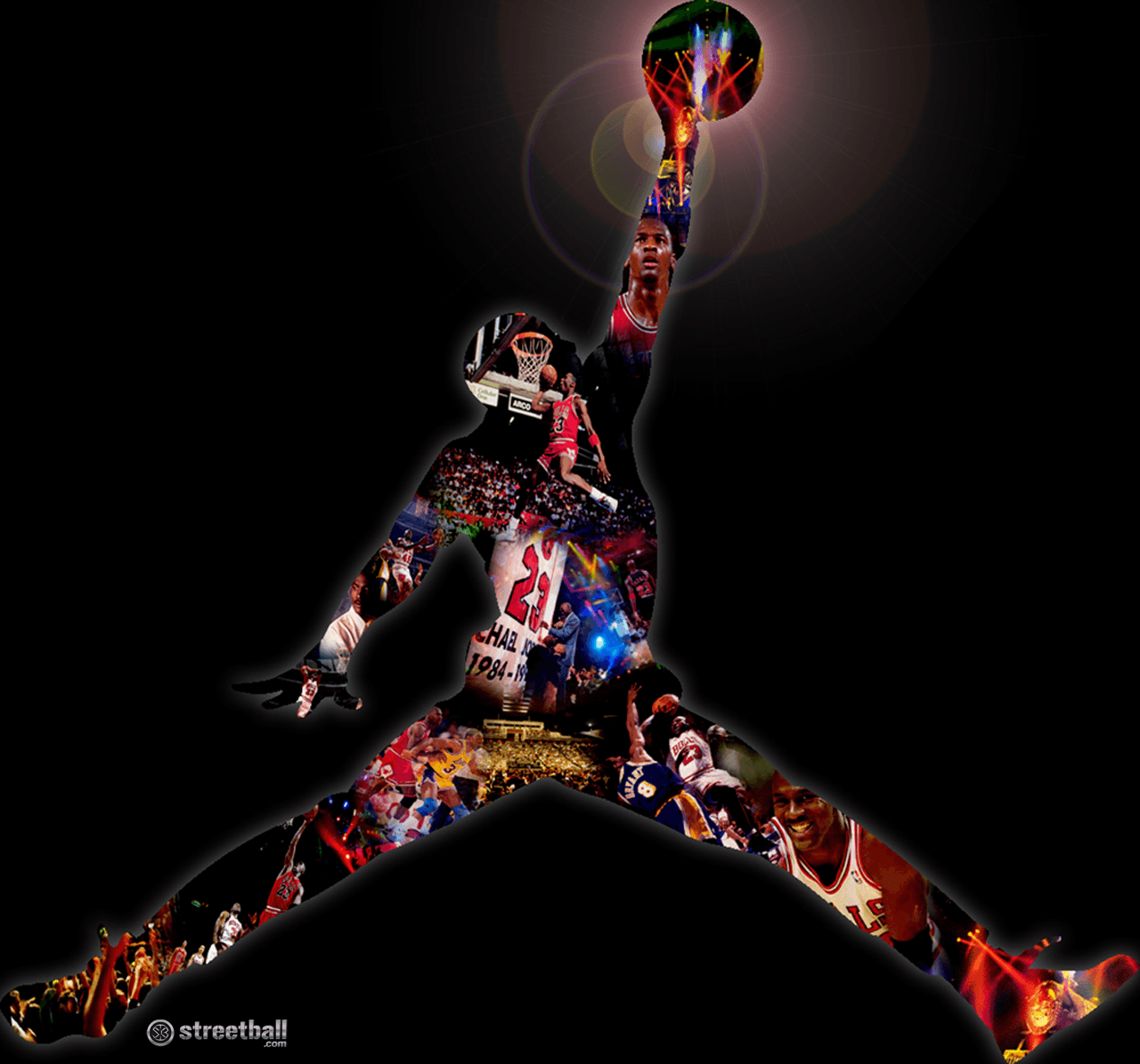 SECRET to Dunk like a Pro Jordan logo wallpaper, Michael