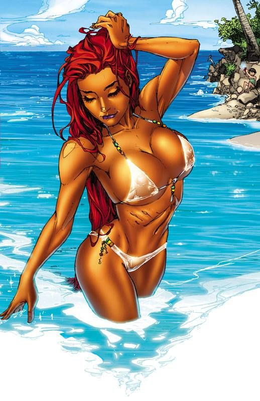 Dc comics starfire sexy apologise, but