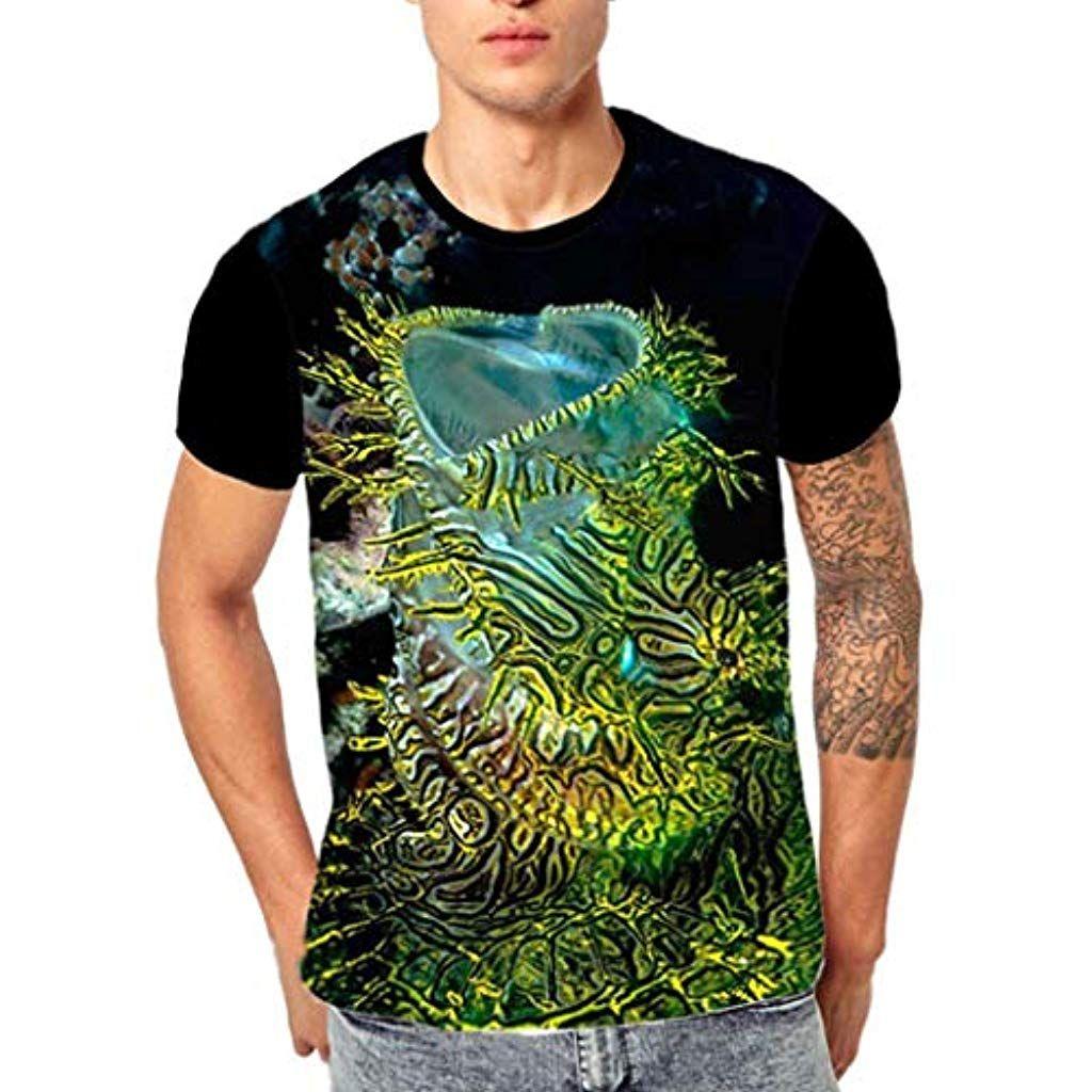040787d1bad95 Imprimé en 3D Vetement Homme Pas Cher a la Mode t-Shirt Tee Shirt Manche  Courte Homme Humour Chemise Homme Top Sport Haut Blouse Noir #giletsjaunes  ...