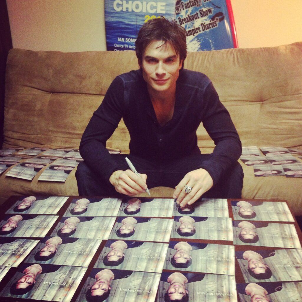 ian somerhalder on Kumbuya actor  who started as a model and philanthropist he loves animals and he cares about the environment he 34 years old he grew up in Covington Louisiana he was on lost now he on a show called the vampire diaries their shooting their 5 season