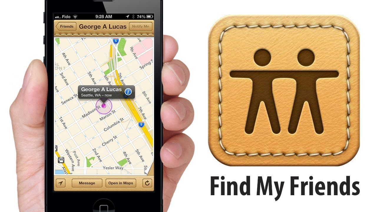 """FIND MY FRIENDS"" How to Locate Friends on iPhone, iPad"