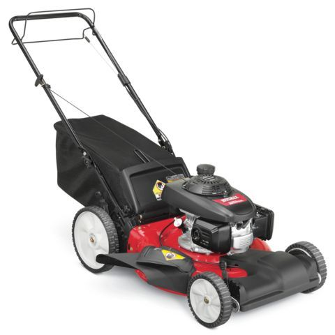 Huskee 21 in  3-IN-1 Self-Propelled Mower, CARB Compliant