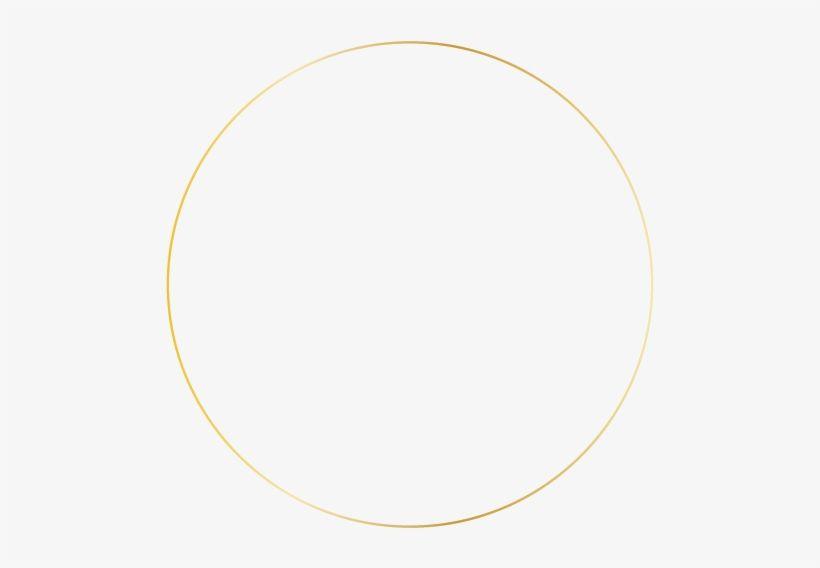 Gold Circle Outline Png Circle Outline Gold Circle Frames Green Circle Logo
