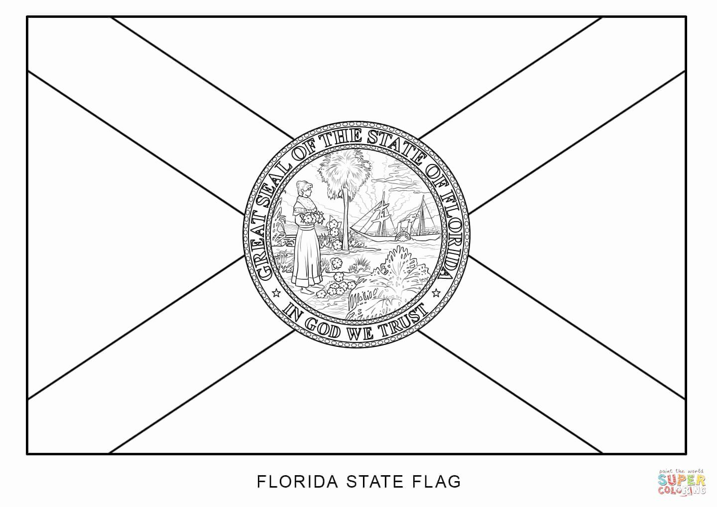 Arizona State Flower Coloring Page Fresh Florida Coloring Pages