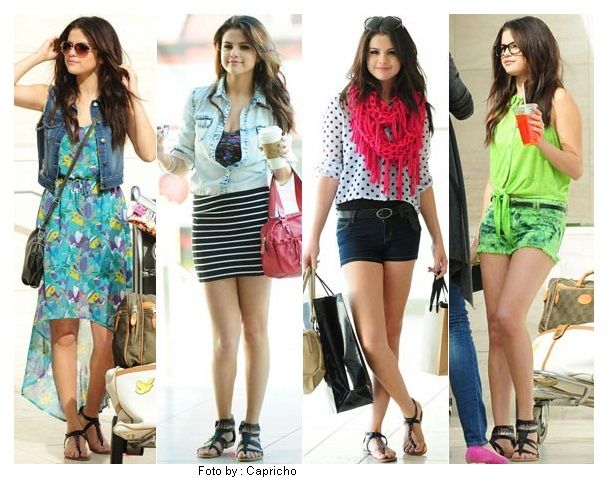 selena gomez 2013 outfits My Favorite Is The One With The Pink Scarf