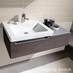 Villeroy Boch Subway 2 0 Waschtischunterschrank Asymetrisch Mit 1 Auszug Terra Matt Mit Bildern Moderne Badezimmermobel Kleines Badezimmer Mobel Waschtischunterschrank