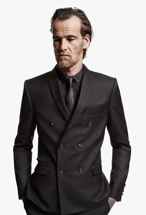 5b76c4358d8 The Kooples Man FW13 #thekooples #double #breasted #suit #jacket #brocard  #touch