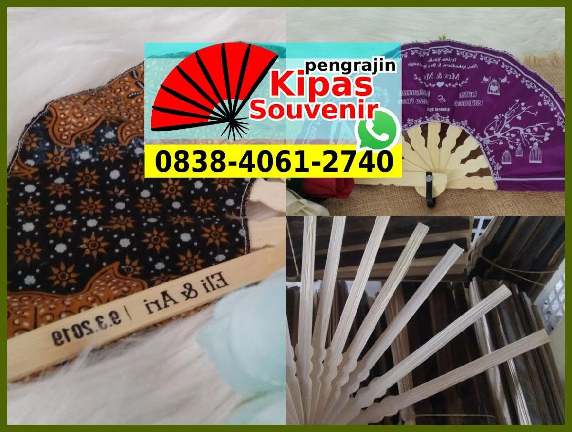Souvenir Kipas Kayu Souvenir Kipas Plastik Jatinegara Souvenir