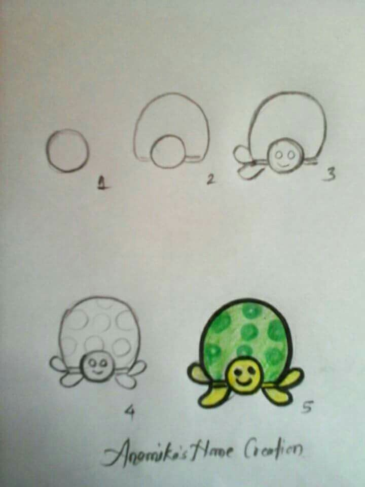 easy draw turtle - photo #38