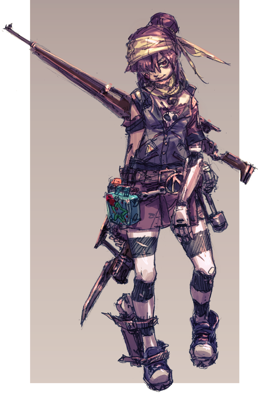 jikan hakushaku,artist,Borderlands 2,Borderlands,Игры,Gaige,Гейдж,BL