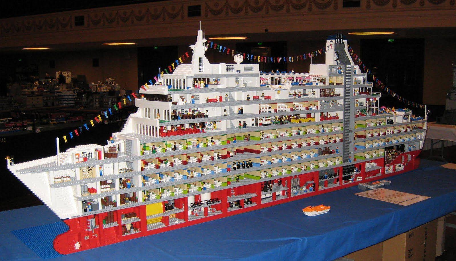 Love Boat Ryan Mcnaught Crafts Pinterest Lego And Hard Drive Circuit Board Desk Clock Livbit