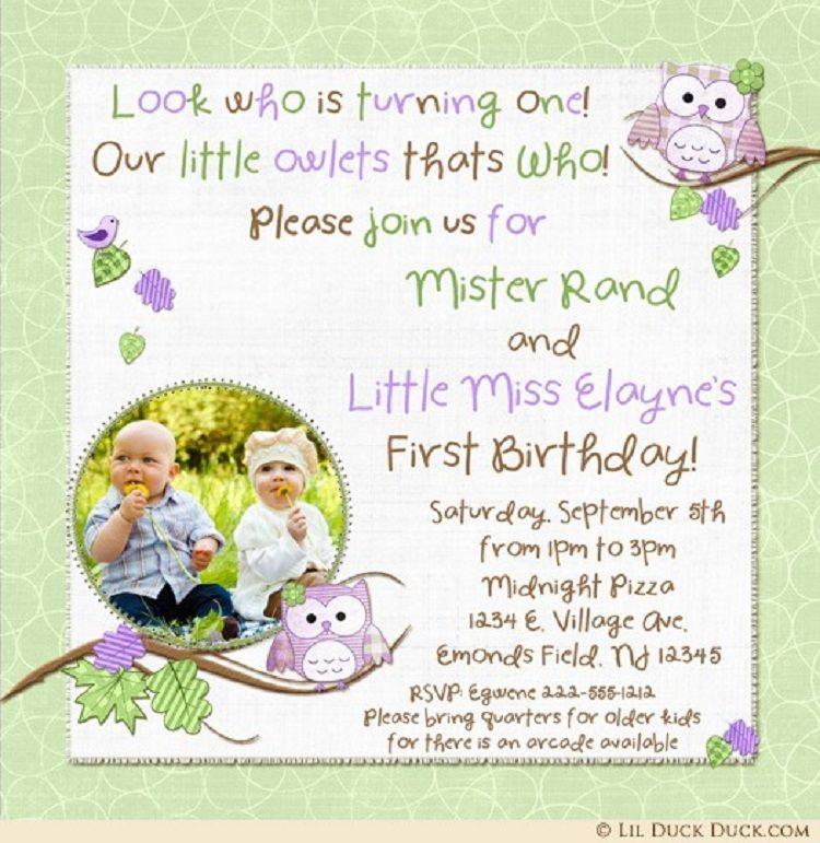 green birthday invitation card example Party ideas Pinterest