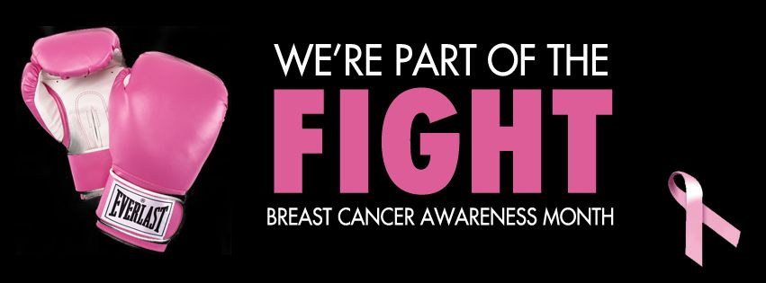 Breast Cancer Awareness Month Facebook Cover Photo