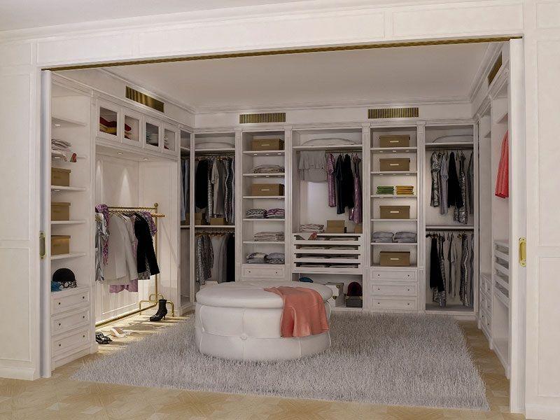 Boiserie cabina armadio 2 boiserie in stile cabina - Stanza da letto con cabina armadio ...