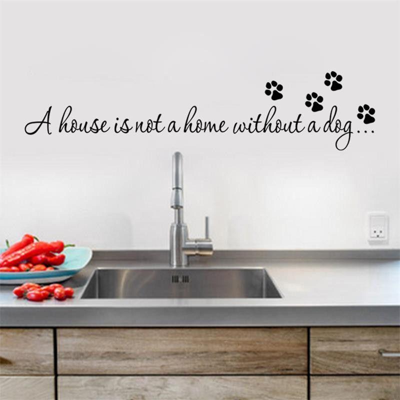 Popular Dog Print WallpaperBuy Cheap Dog Print Wallpaper Lots - Custom vinyl wall decals dogs