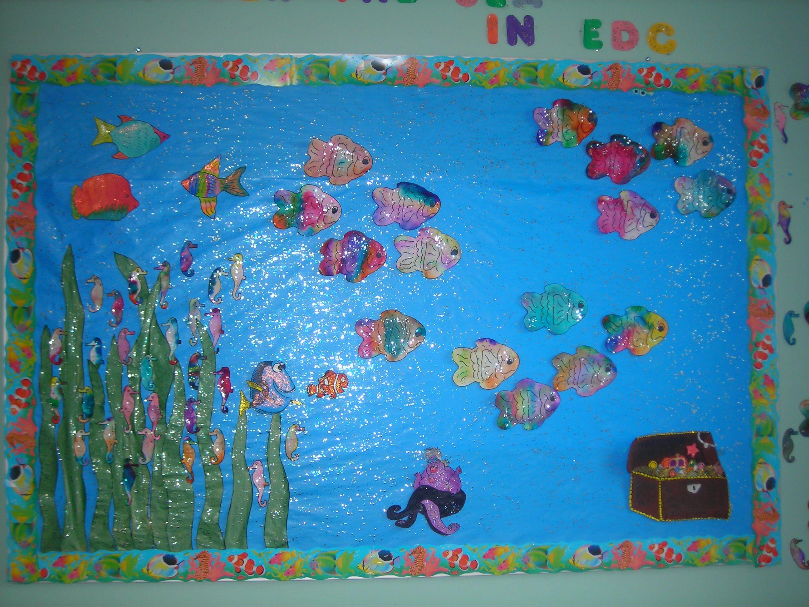 Under The Sea Bulletin Board By Debbie Krohn