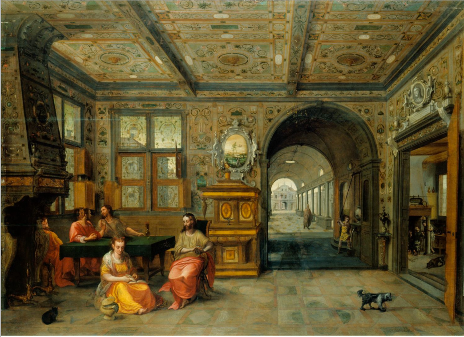 File:Hans Vredeman de Vries - Christ in the House of Martha and Mary.tiff