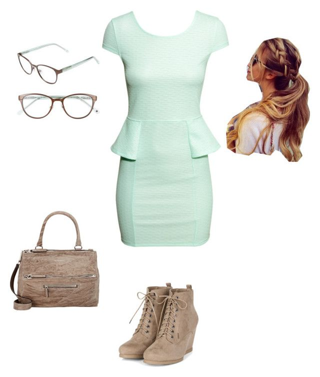 """""""Untitled #57"""" by ashynbrown on Polyvore featuring H&M, Kate Spade and Givenchy"""