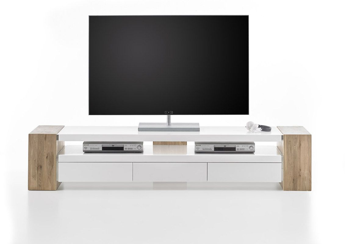 Jule Tv Stand White Tv Unit Modern Tv Units And Tv Stand Designs # Meuble Tele Mural Design
