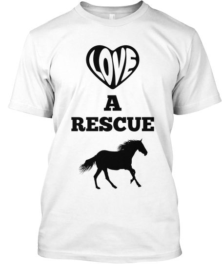 Help a Rescue Horse get a Cool Tee!!! | Teespring